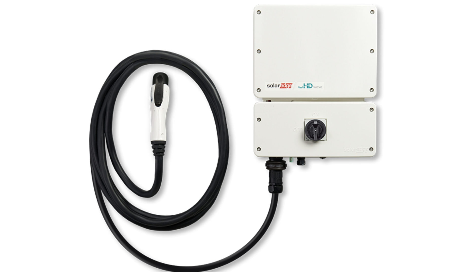 SolarEdge inverter with EV charger